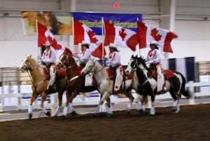 Canadian Cowgirls Rodeo Drill Team