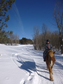 trail ride Deerhurst