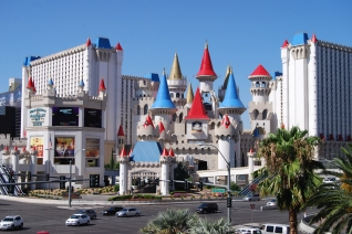 The Excalibur in Las Vegas photo by S. Telenko