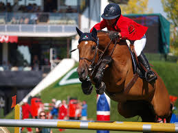 Spruce Meadows jumping