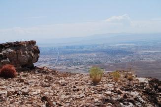 view of Las Vegas Strip photo by S. Telenko