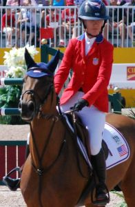 Individual Jumping Silver Medalist U.S. Lauren Hough on Ohlala
