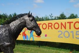 Horse Sculpture at Caledon Equestrian Park