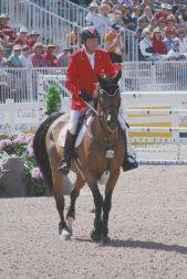 Canadian Ian Millar and Dixon