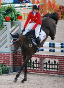 US Marilyn Little Gold Medal winner Eventing