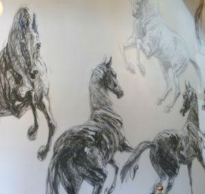 white horse inn mural