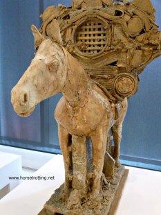 Horse with Baggage Gardiner Museum Toronto