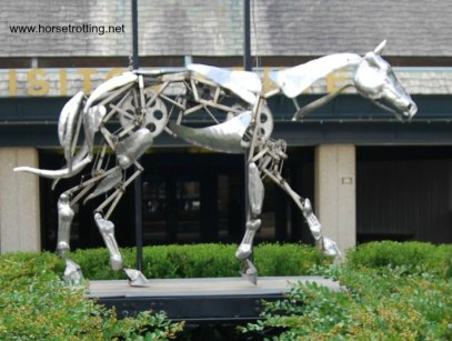 The Mechanical Horse sculpture The Kentucky Horse Park