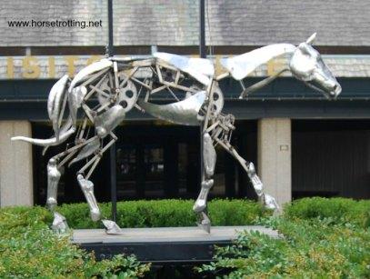 The Mechanical Horse sculpture The Kentucky Horse Park
