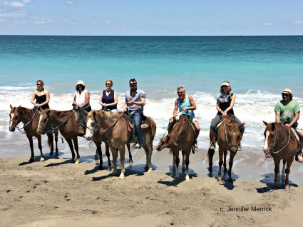 St. Lucie Florida Riding on the Beach Jennifer Merrick