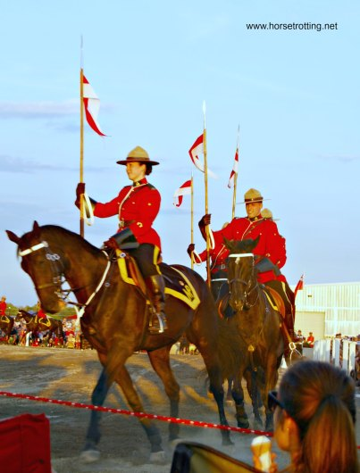 RCMP Musical Ride horsetrotting.net