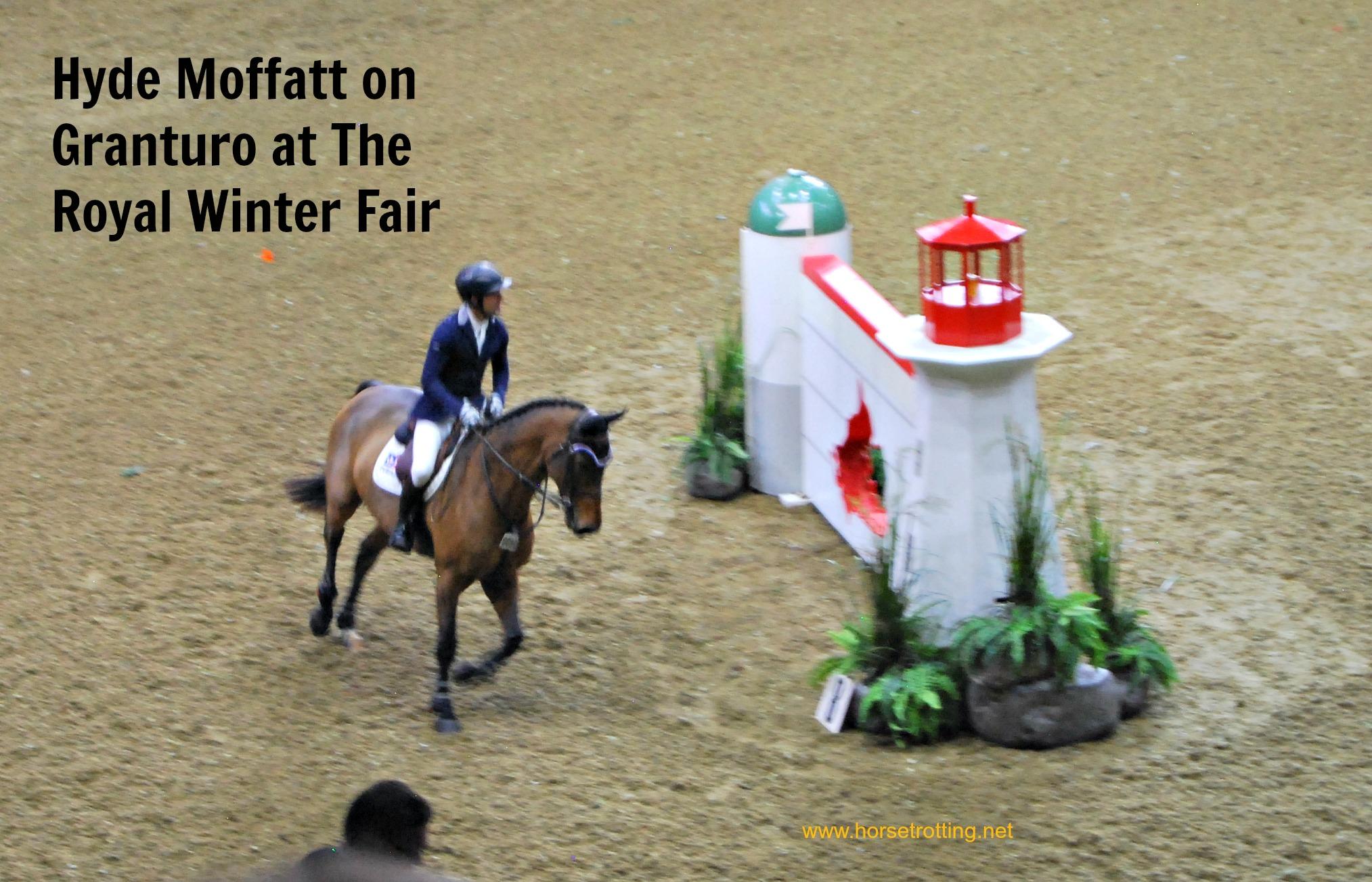 Hyde Moffatt at Royal Winter Fair, Toronto
