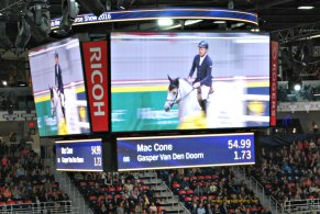Equestrian Mac Cone at Royal Winter Fair, Toronto