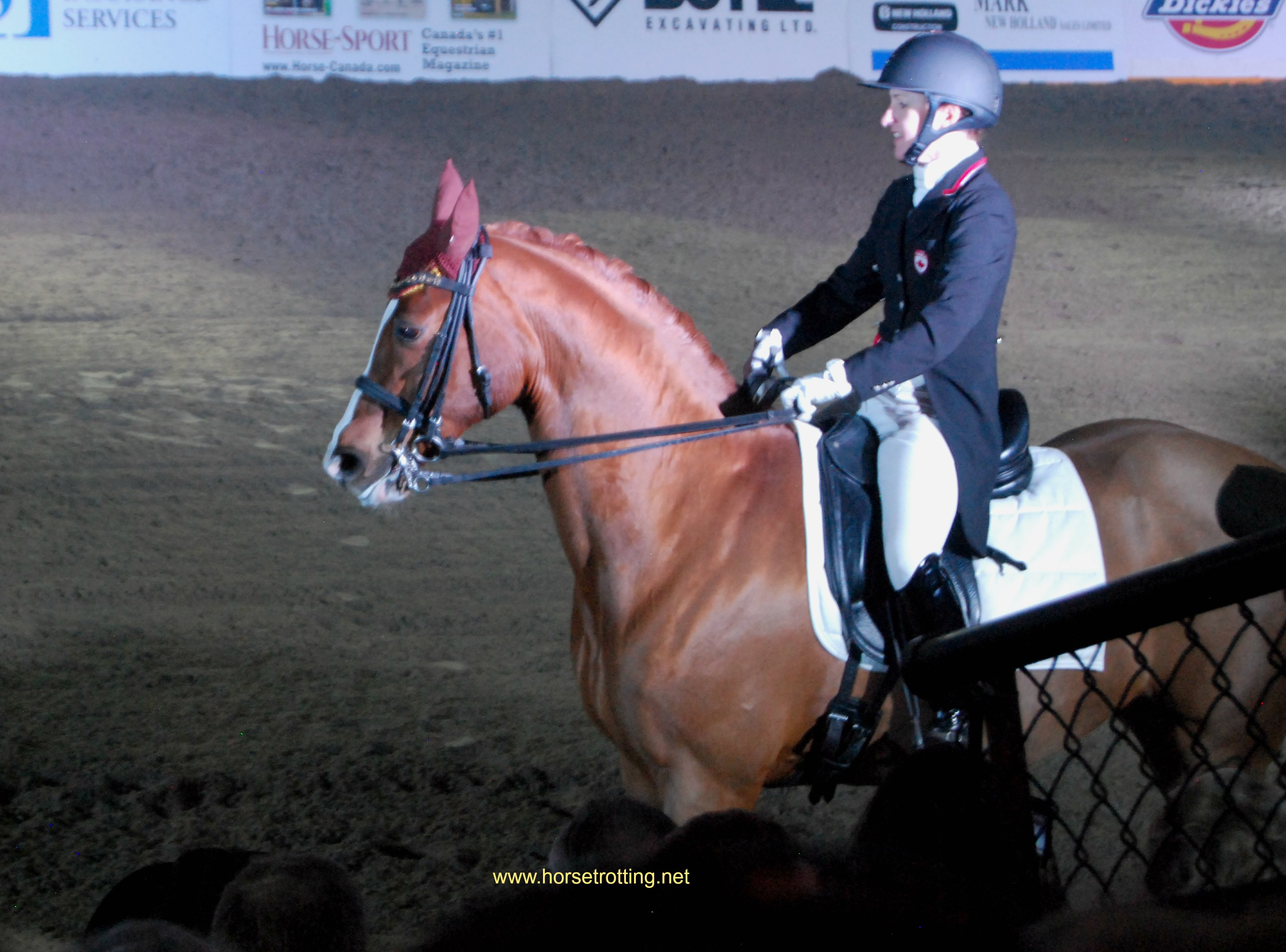 Belinda Trussell at Can-Am All Breeds Equine Expo