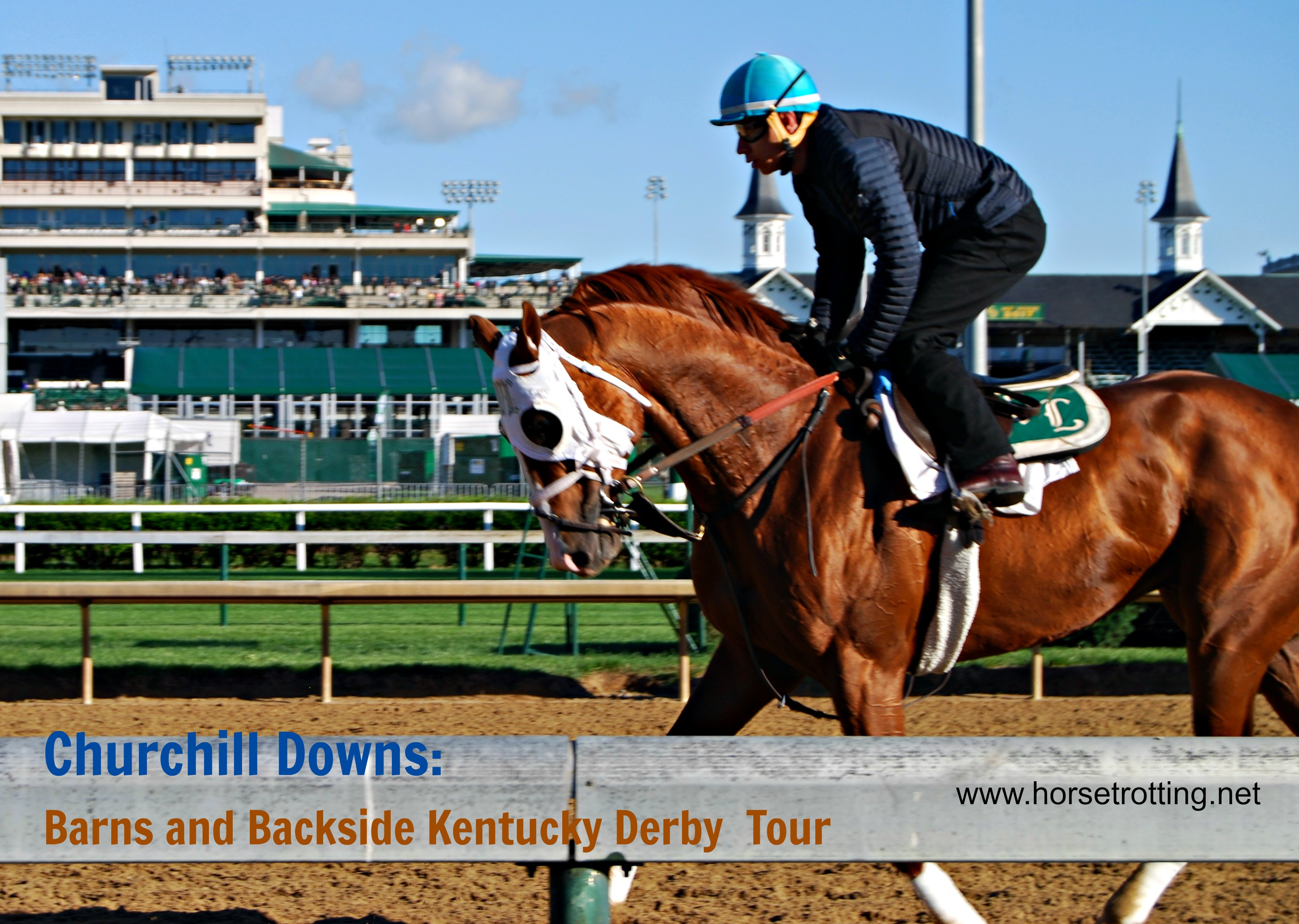 Barns and Backside Tour Derby Week Churchill Downs Louisville, KY