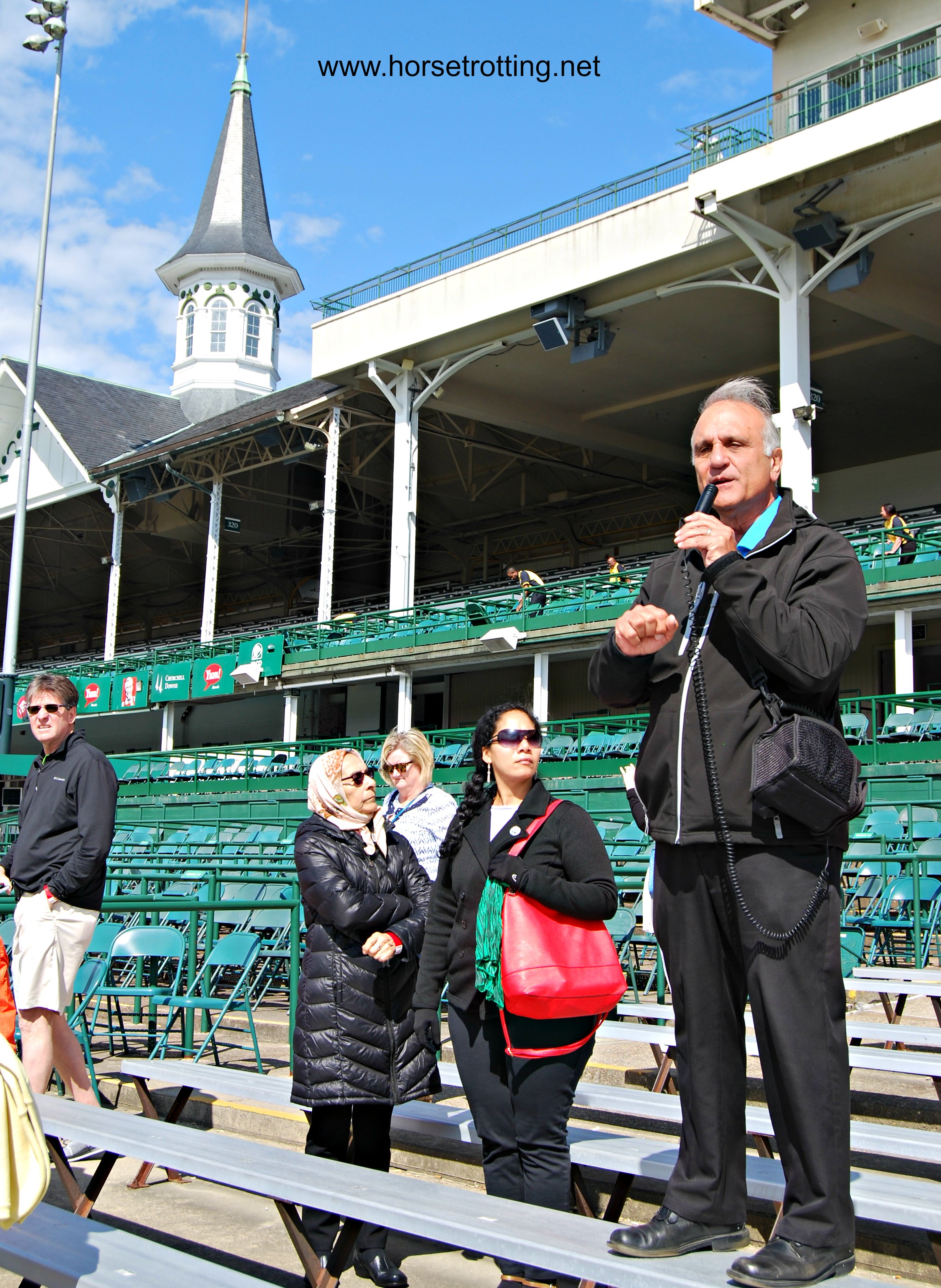 Historic Walking Tour Churchill Downs Louisville, KY
