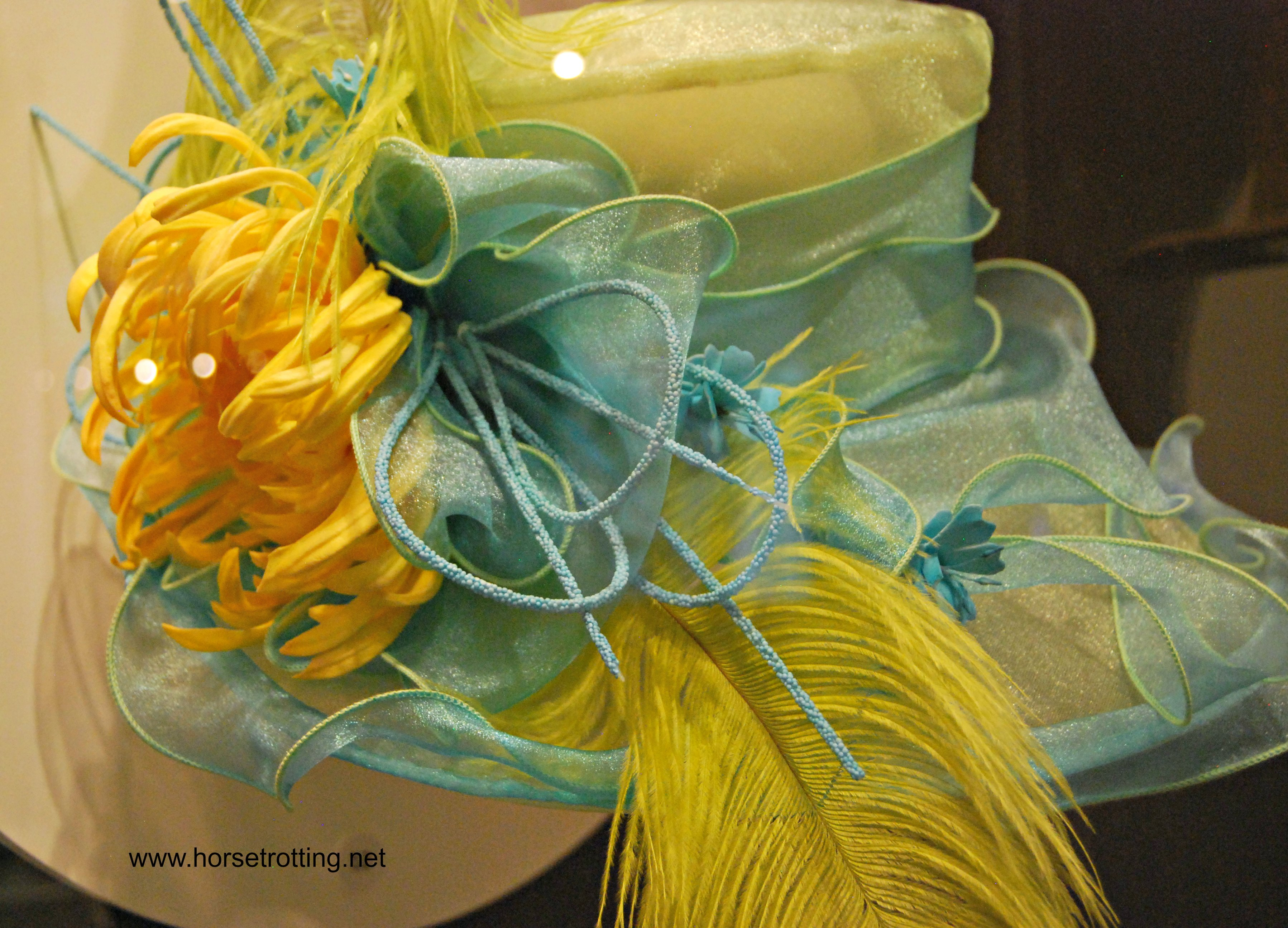Hat at the Kentucky Derby Museum Louisville, KY