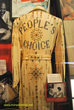 Elvis robe at Mohammad Ali Museum Louisville