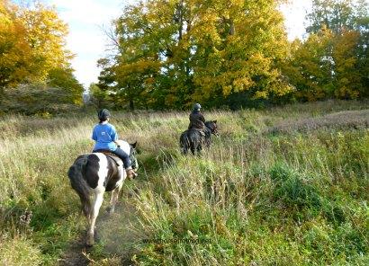 Mantracker Adventure at Conestoga River Horse Adventures, Waterloo, Ontario