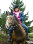 Saddling up at Conestoga River Horse Adventures, Waterloo, Ontario