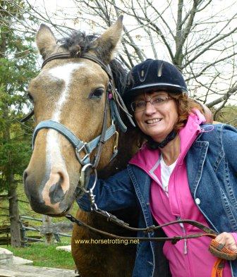 Me and Jagger the horse at Conestoga River Horse Adventures, Waterloo, Ontario