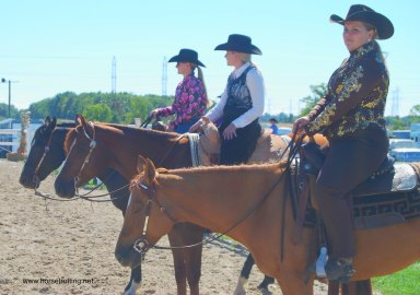 Western Riders at the Ancaster Fall Fair 2016