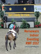 Horseware Indoor Eventing at the Royal Winter Fair 2017