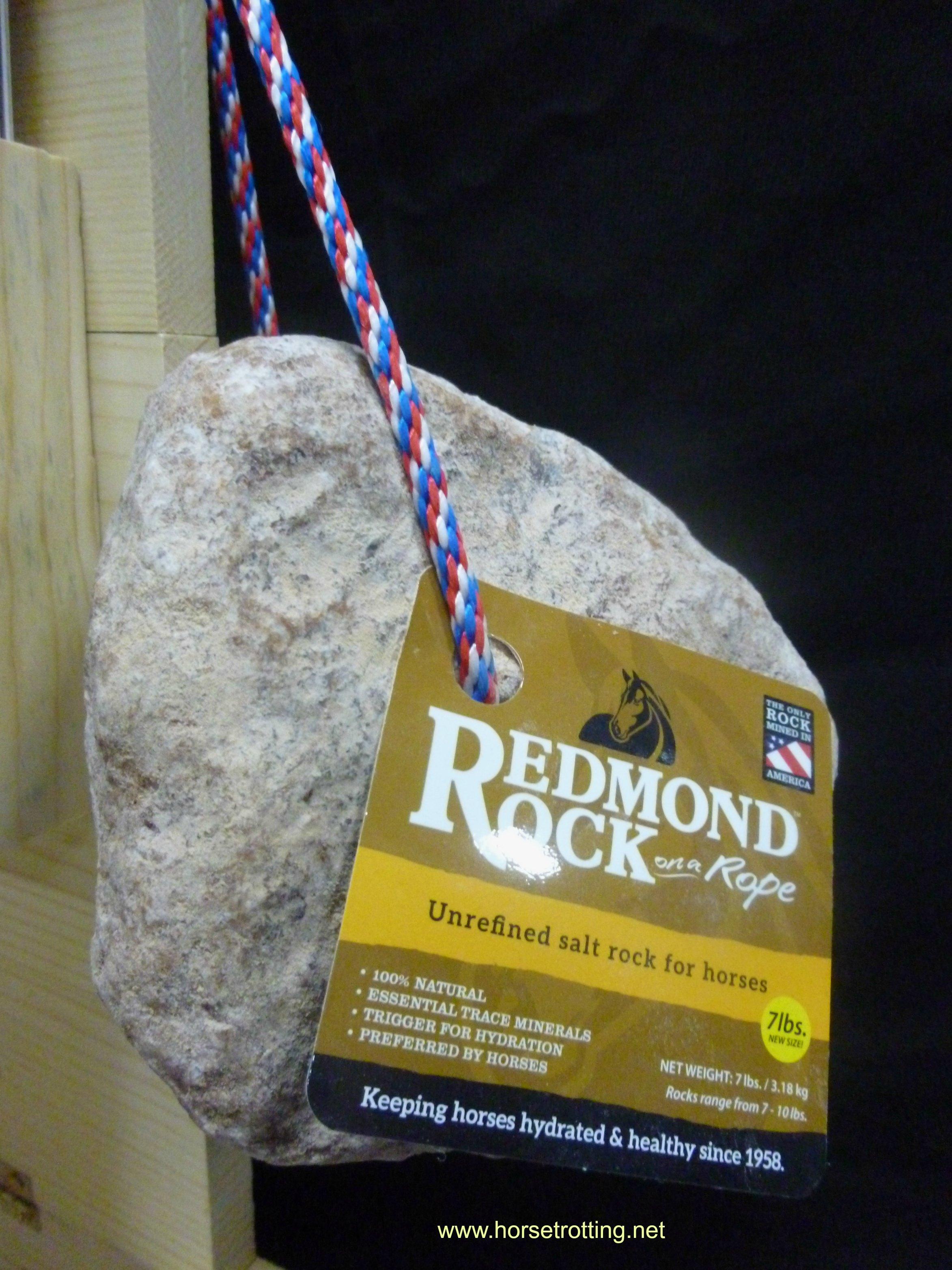 Redmond Rock salt rock for horses