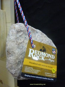 Redmond Rock salt rock for horses