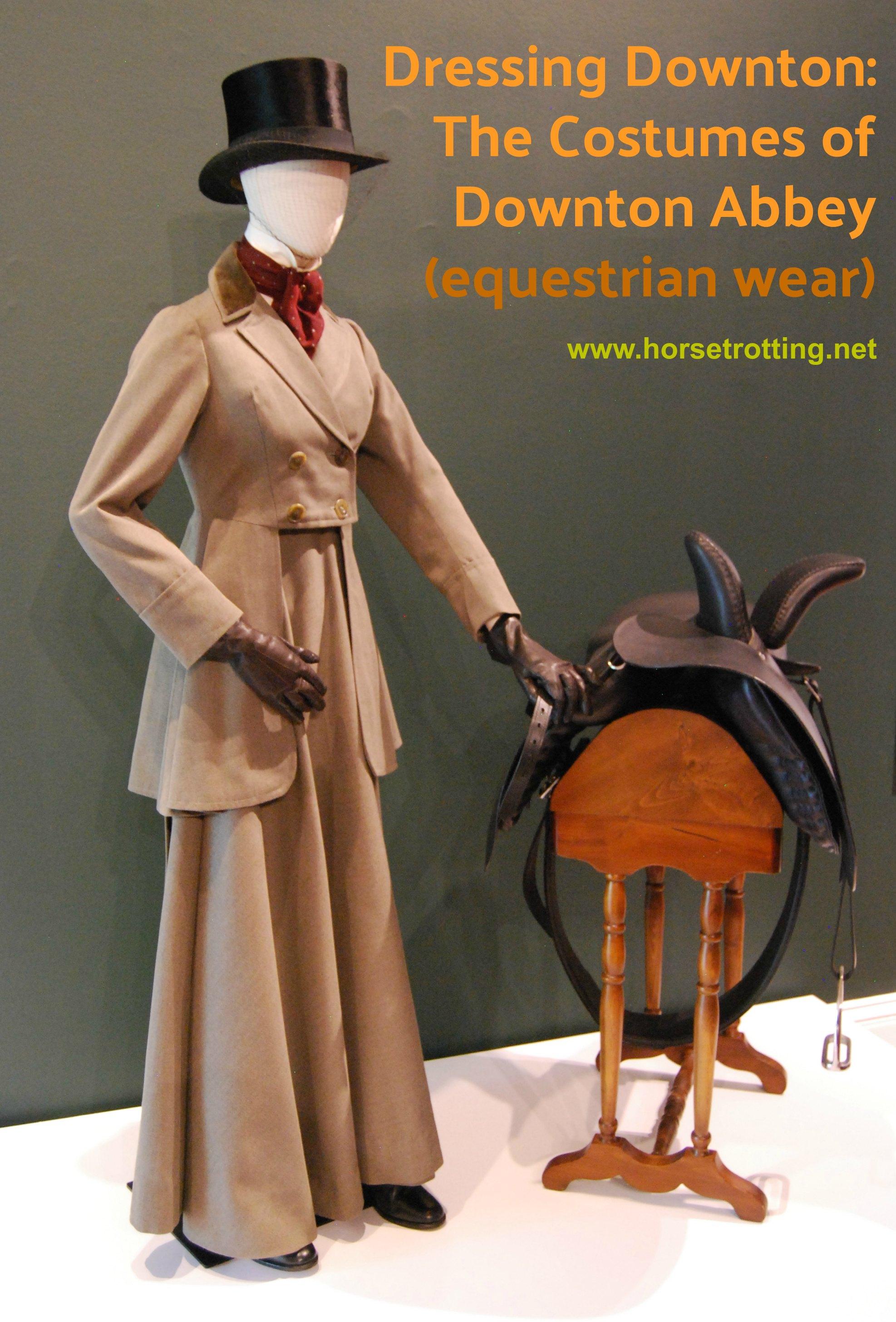 Downton Abbey Equine Costume horsetrotting.net