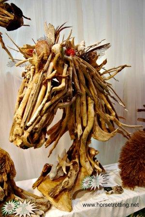 horse driftwood