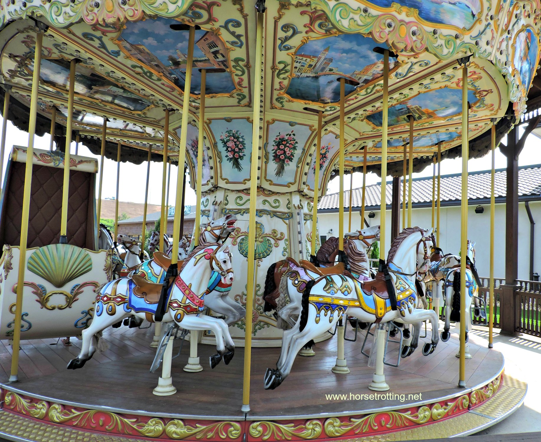 carousel at Tyron International Equestrian Center, North Carolina