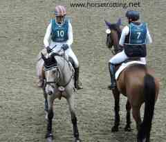 The Royal Winter Fair Indoor Eventing Competition (horse jumping)