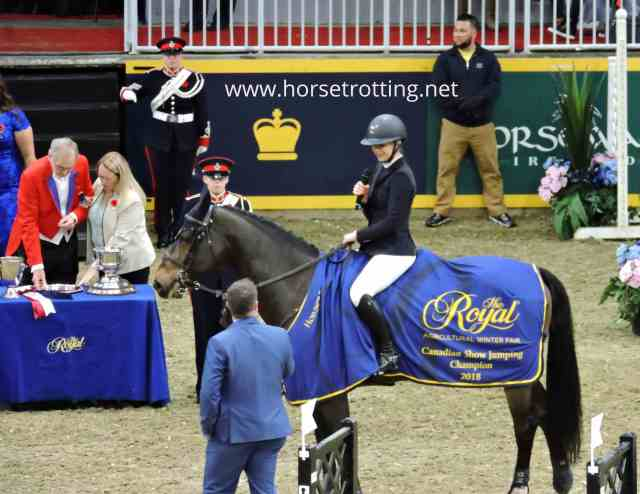 Canadian Jumping Competition Royal Winter Fair 2018
